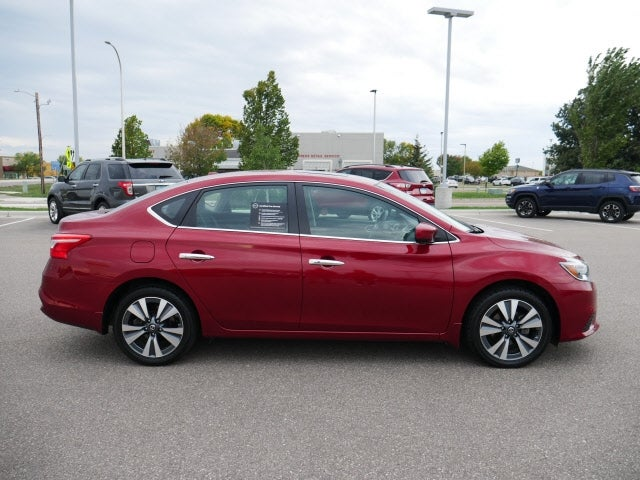 Used 2019 Nissan Sentra SV with VIN 3N1AB7AP7KY272849 for sale in Mankato, Minnesota